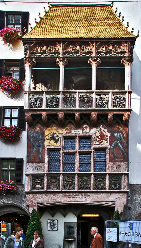The Golden Roof Innsbruck Austria The Story Of The
