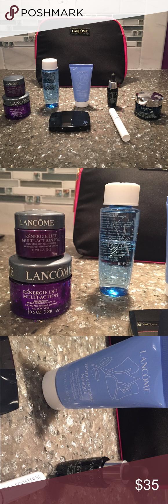 Cosmetics Set Set Includes Lancôme Makeup Bag
