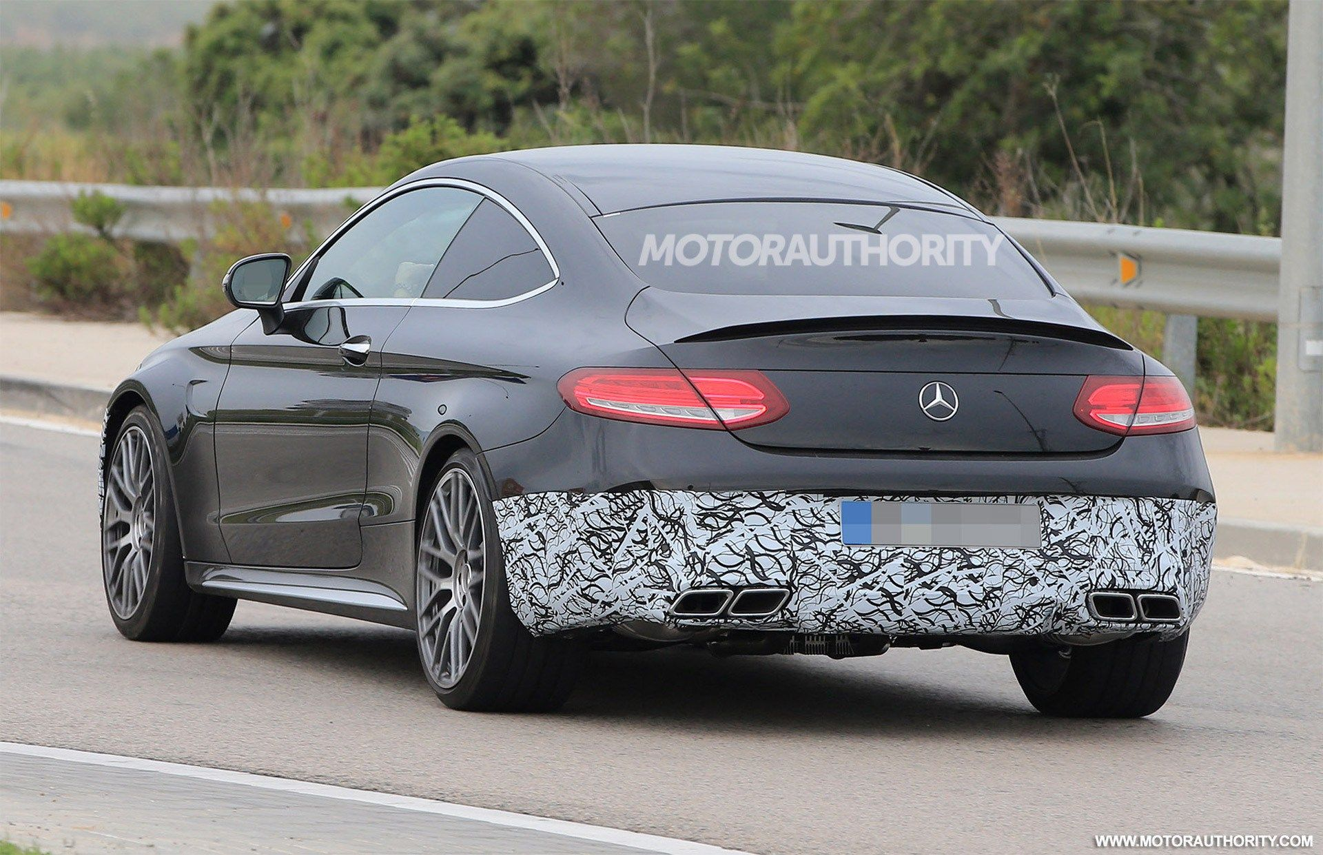 The 2020 Mercedes Amg C63 Coupe Exterior Mobil