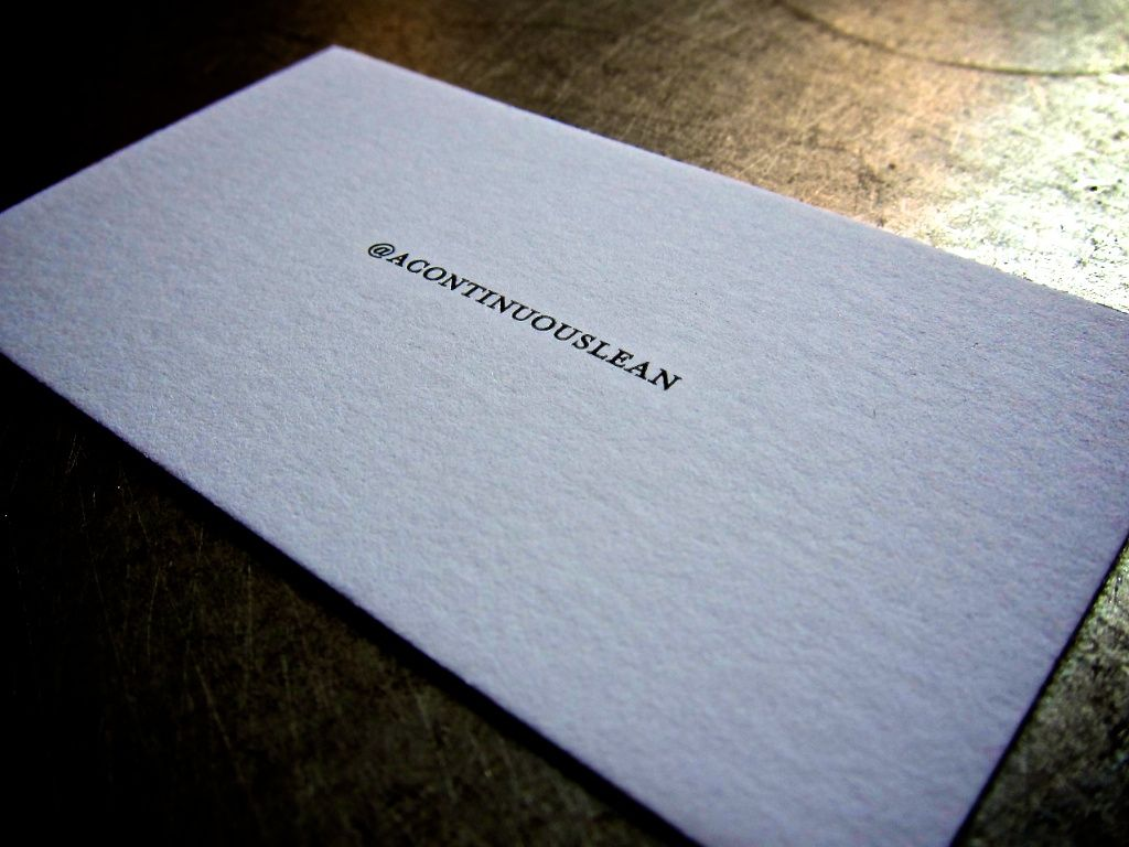 letterpress business cards from Terrapin Stationers. very cool. very ...