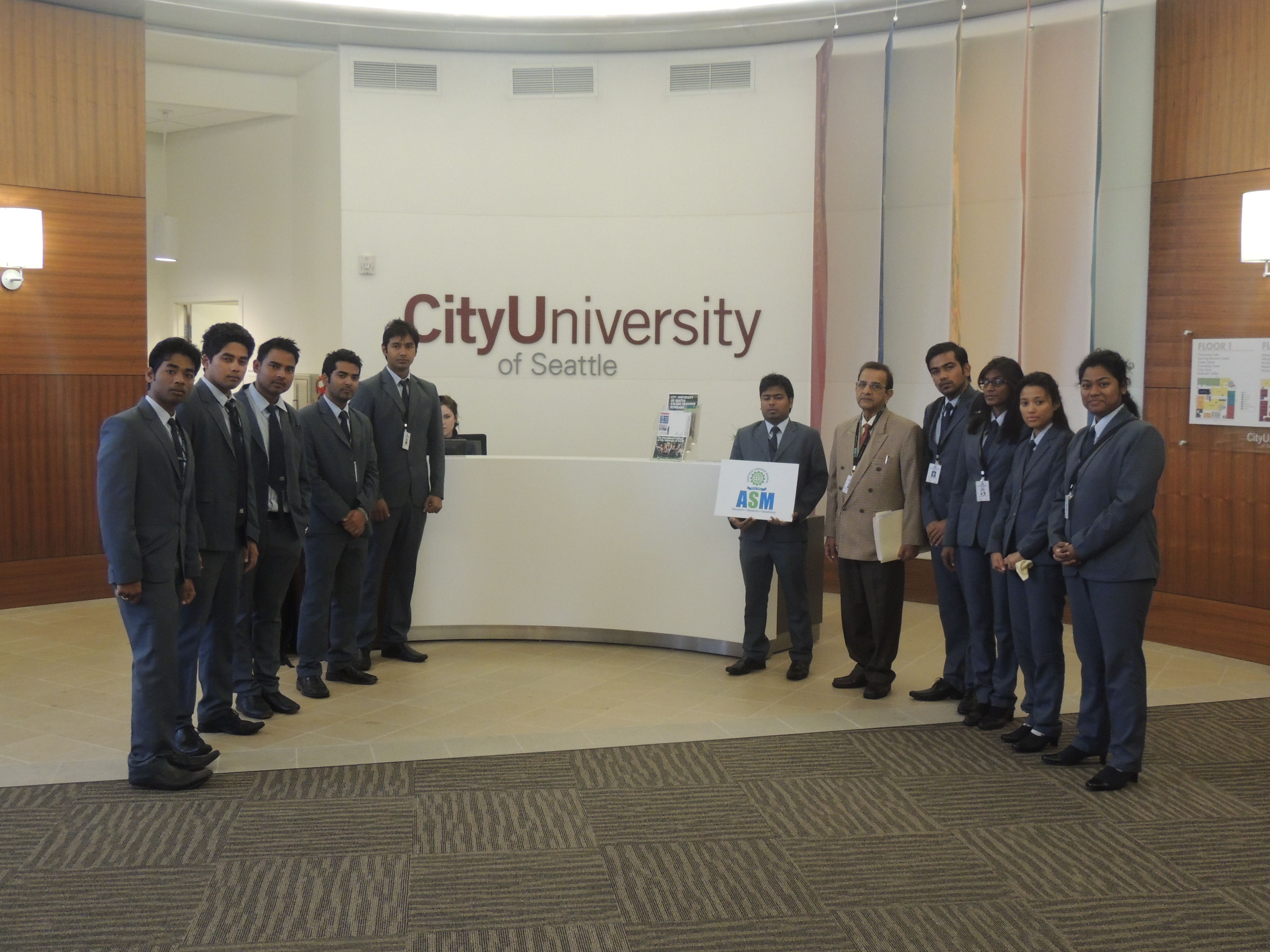 Asm Group Of Institutes Tour To City University Of Seattle University Company Logo City