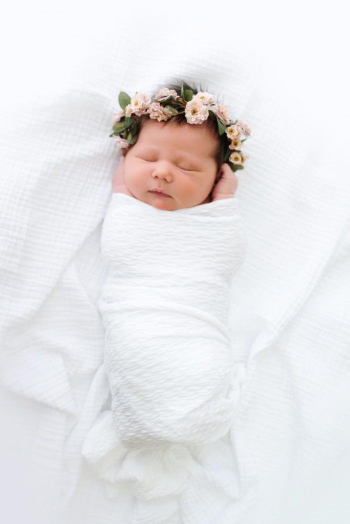 f106c8a7439 Baby flower crown More