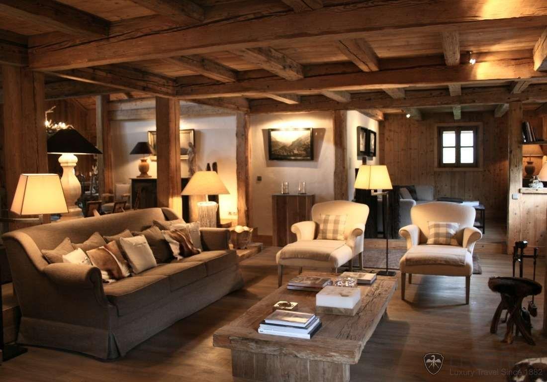 Case di lusso in montagna beautiful salisburgo chalet di for Ville lussuose interni
