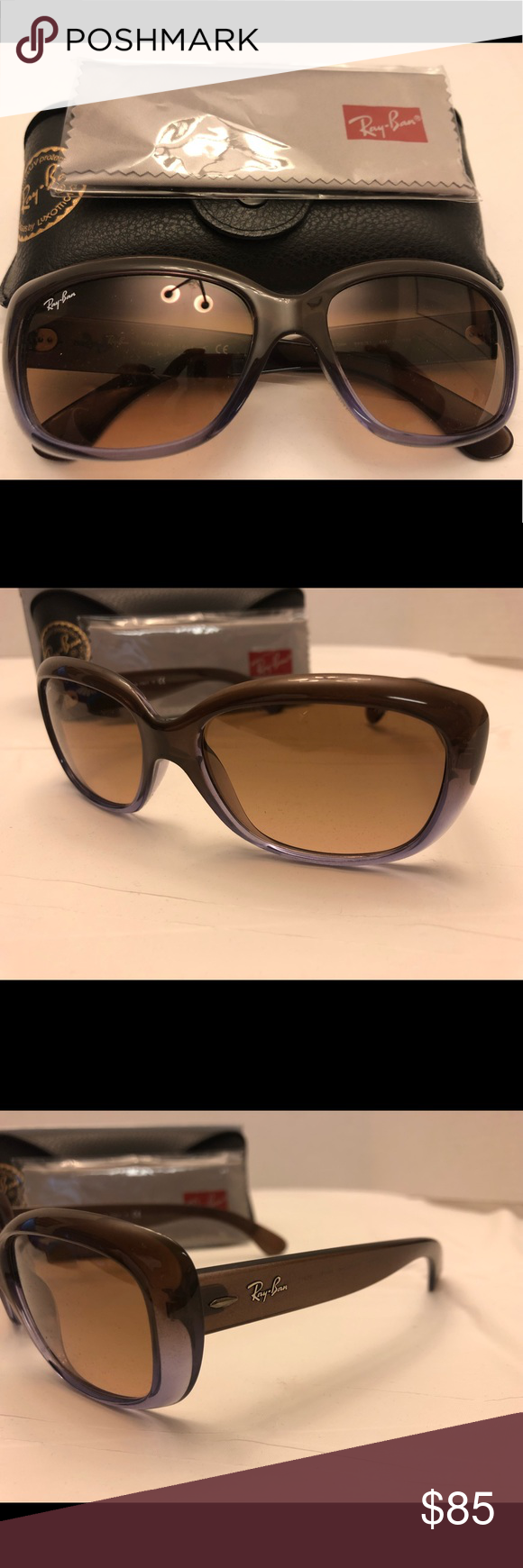 RayBan Jackie OHH Women s Sunglasses Ray Ban Jackie OHH women s sunglasses. Brand  New never worn with original case and cleaning cloth. 847aed22fdc8