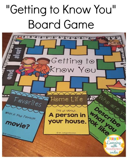 Getting To Know You Board Game ($) Is Perfect For The
