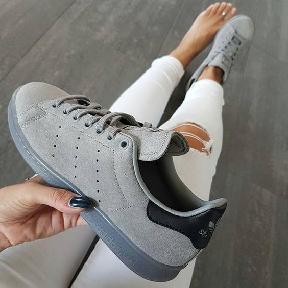 Tendance Sneakers 2018 : stan smith daim grise | Adidas