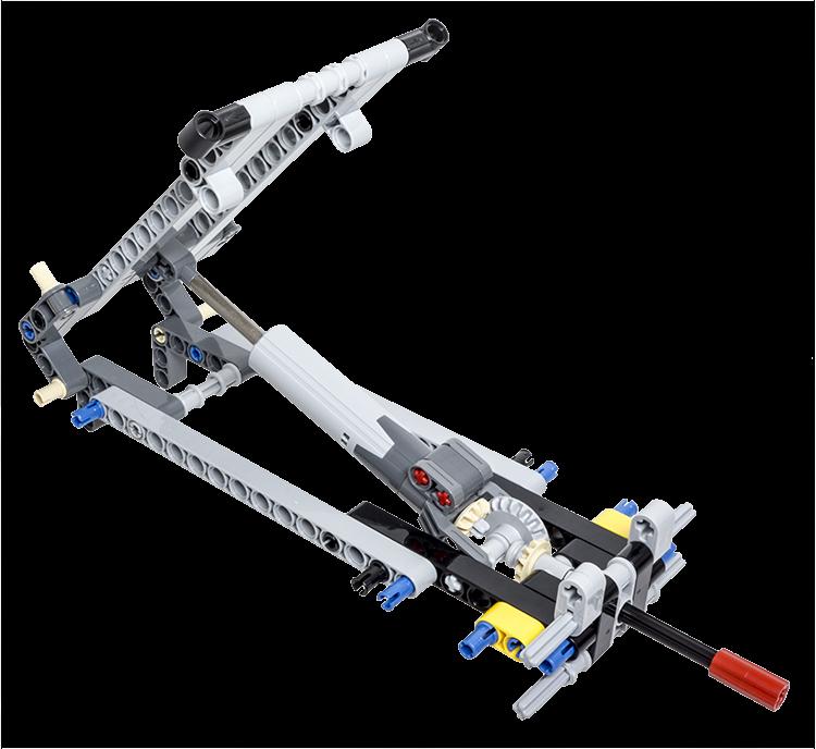 Lego Technic Building Tip Tipper Mechanism Using A Linear Actuator