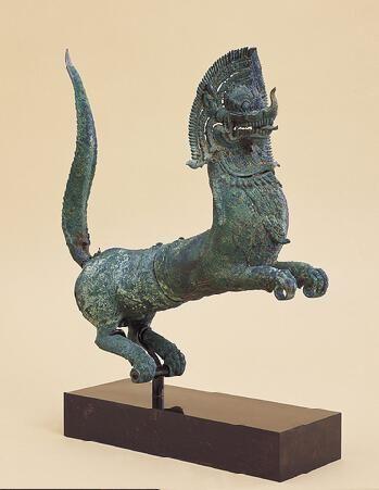 - Mythical Beast ca 1200 Cambodia or Thailand. Angkor period