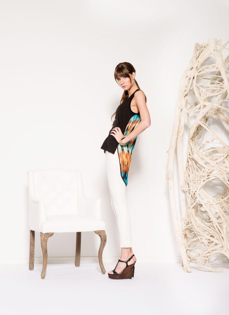Askari Collection | Spring 2014 | Cameron Top