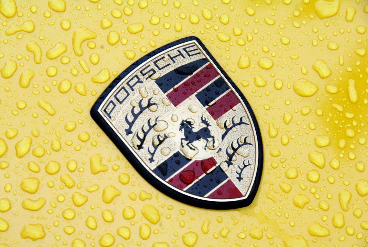 Dark Porsche Logo HD Wallpaper For Desktop And IPad 1920x1200 Emblem Wallpapers 46