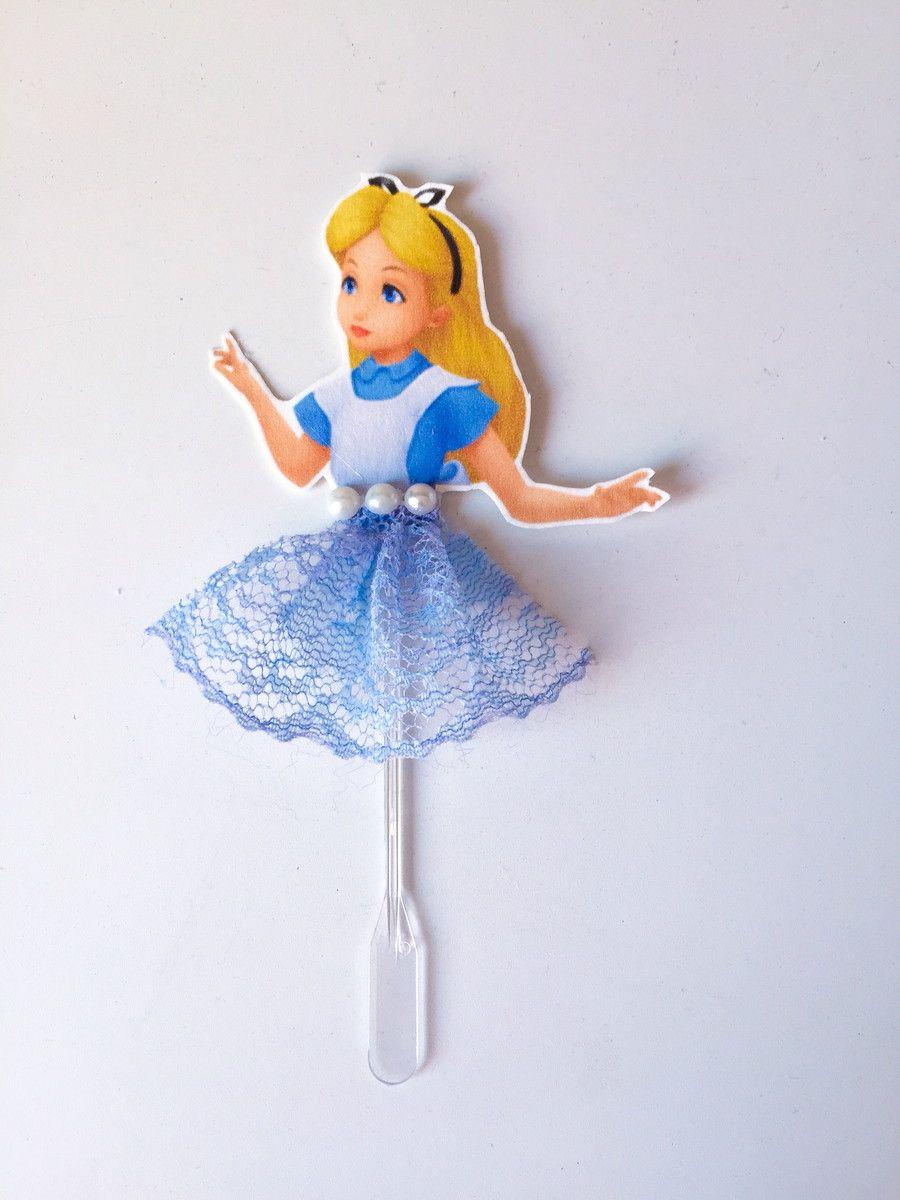 Topper Alice No Pais Das Maravilhas Com Imagens Decoracao