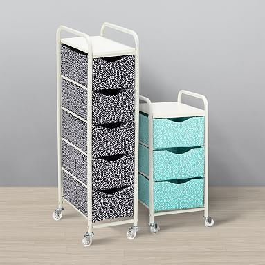 Ready To Roll Storage Cart Mini Dot Pb