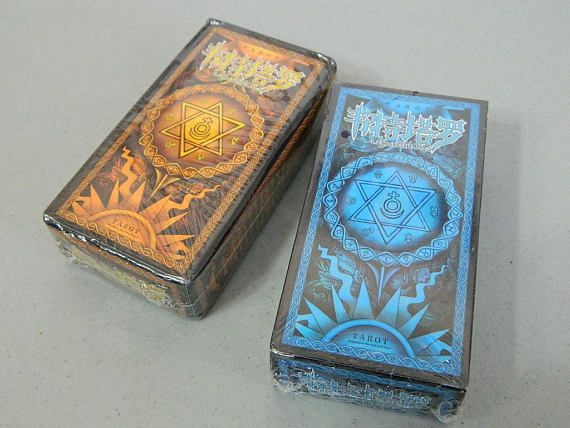 Chinese Art Version Prop/Collectible Classic Waite Tarot