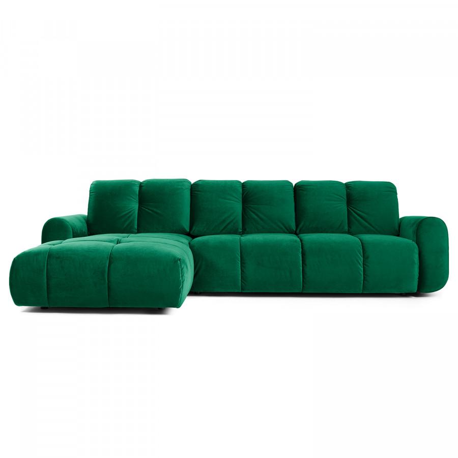Ecksofa Malter Samt Ecksofa Couch Mit Bettfunktion Und Sofa