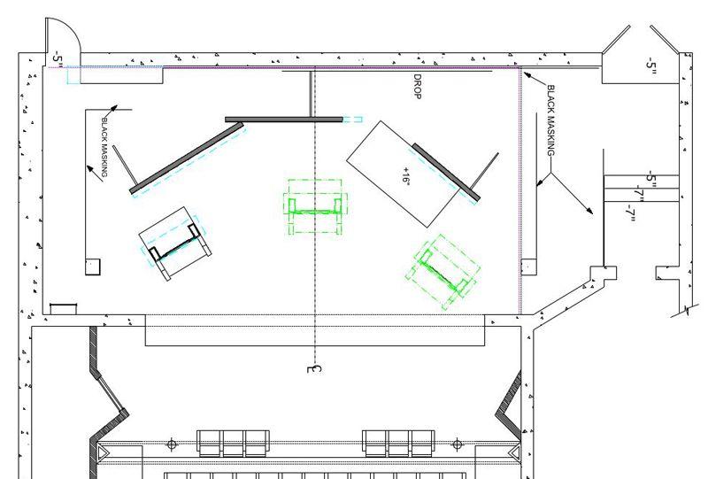 Bombitty Of Errors Floor Plan Penn State School Of Theatre Steve Broadnax Director Mery Beth Henry Costume Designer J How To Plan Design Floor Plans