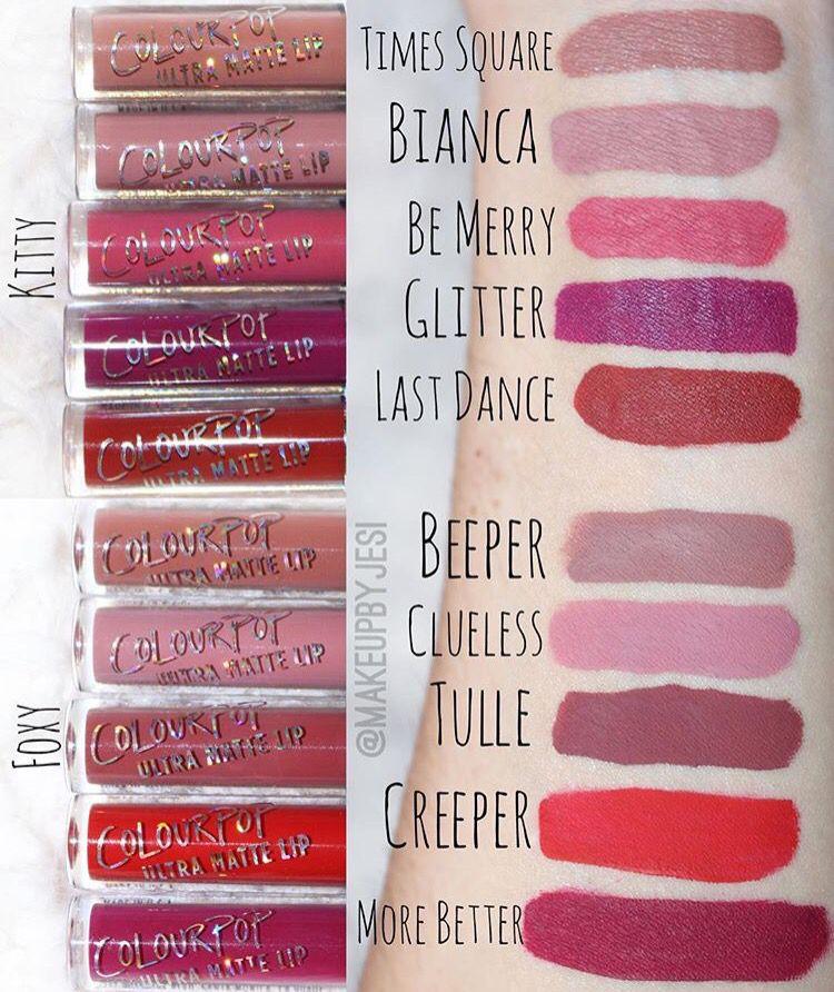 Colourpop Holiday Set Swatches Dupe Makeup Pinterest Swatch - küchenarbeitsplatte online bestellen