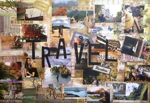 Travel Around The World Tumblr Ideas Scrapbook