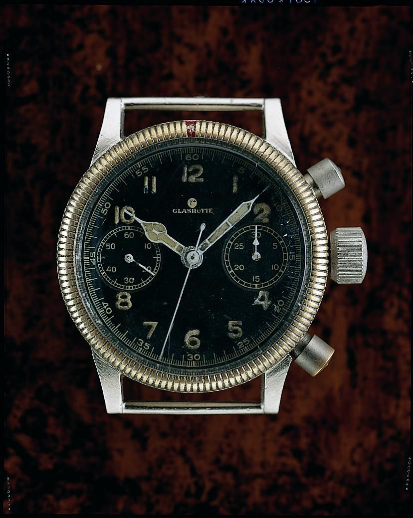 TBT...Original Tutima Fliegerchronograph Original Tutima Fliegerchronograph from Glashütte. (produced between the late 30's and early 40's)