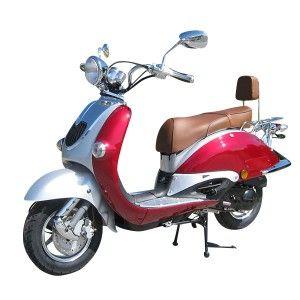 znen retro roller scooter 50ccm weinrot roller pinterest. Black Bedroom Furniture Sets. Home Design Ideas