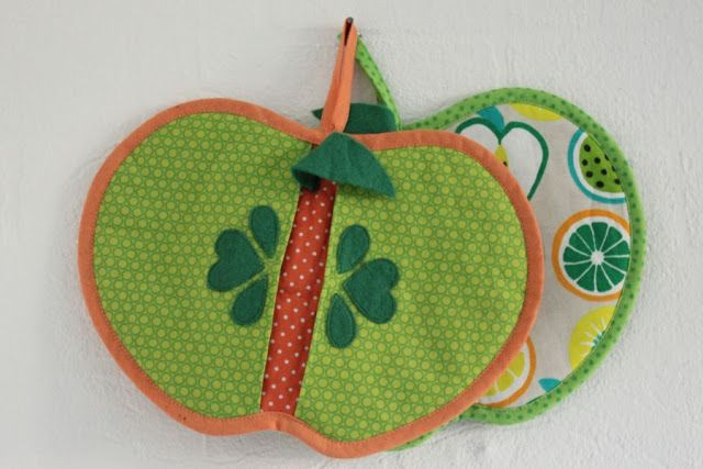 Stitched Teacups: An apple a day