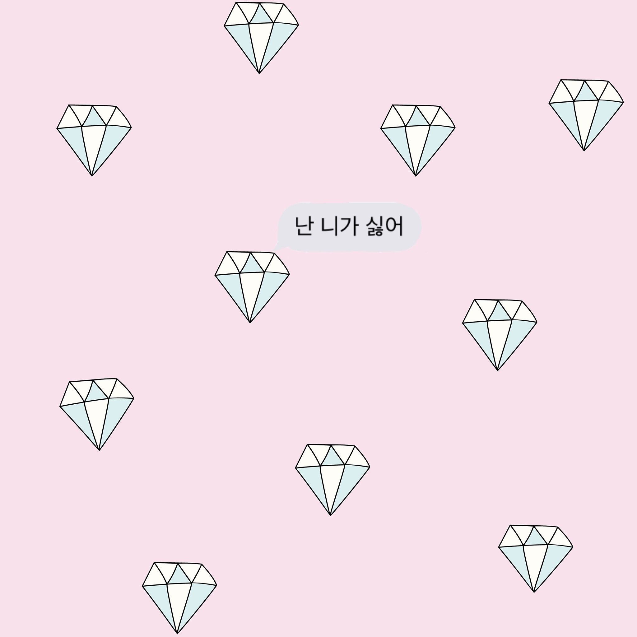 Diamonds wallpaper for girls