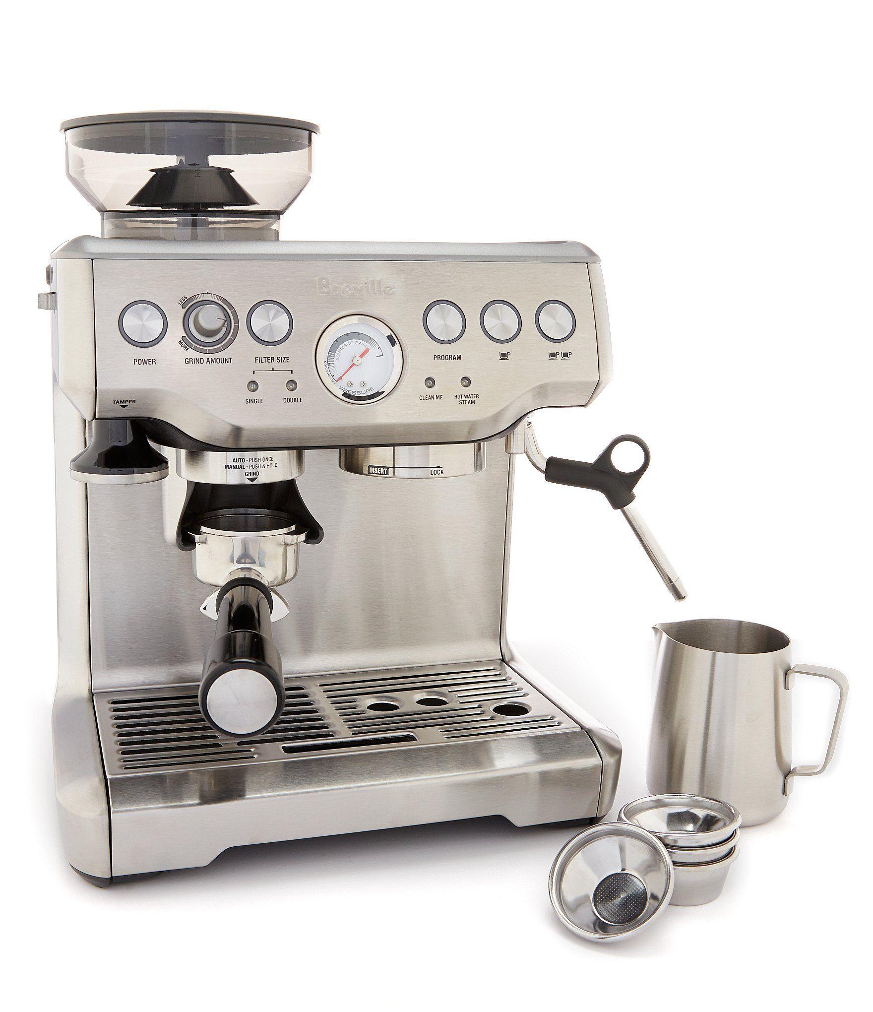 Breville Barista Express Espresso Machine With Integrated Grinder In 2020 Breville Barista Express Espresso Machine Breville