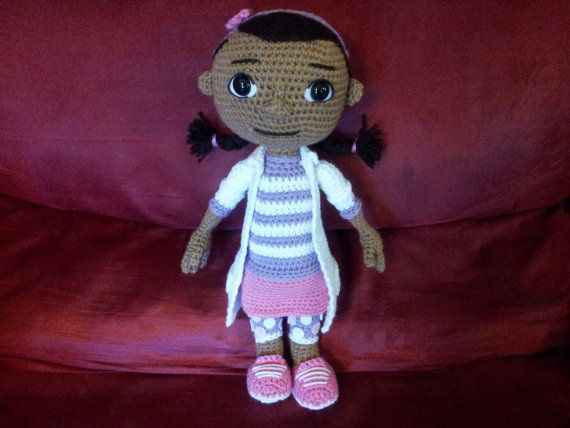 Doc McStuffins crochet pattern by CookieCrumbCrochet on Etsy