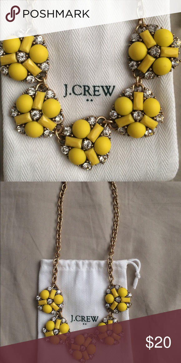 J. Crew Necklace Yellow is always a good idea! This is a great Necklace worn a few times. Always get compliments on it. J. Crew Jewelry Necklaces