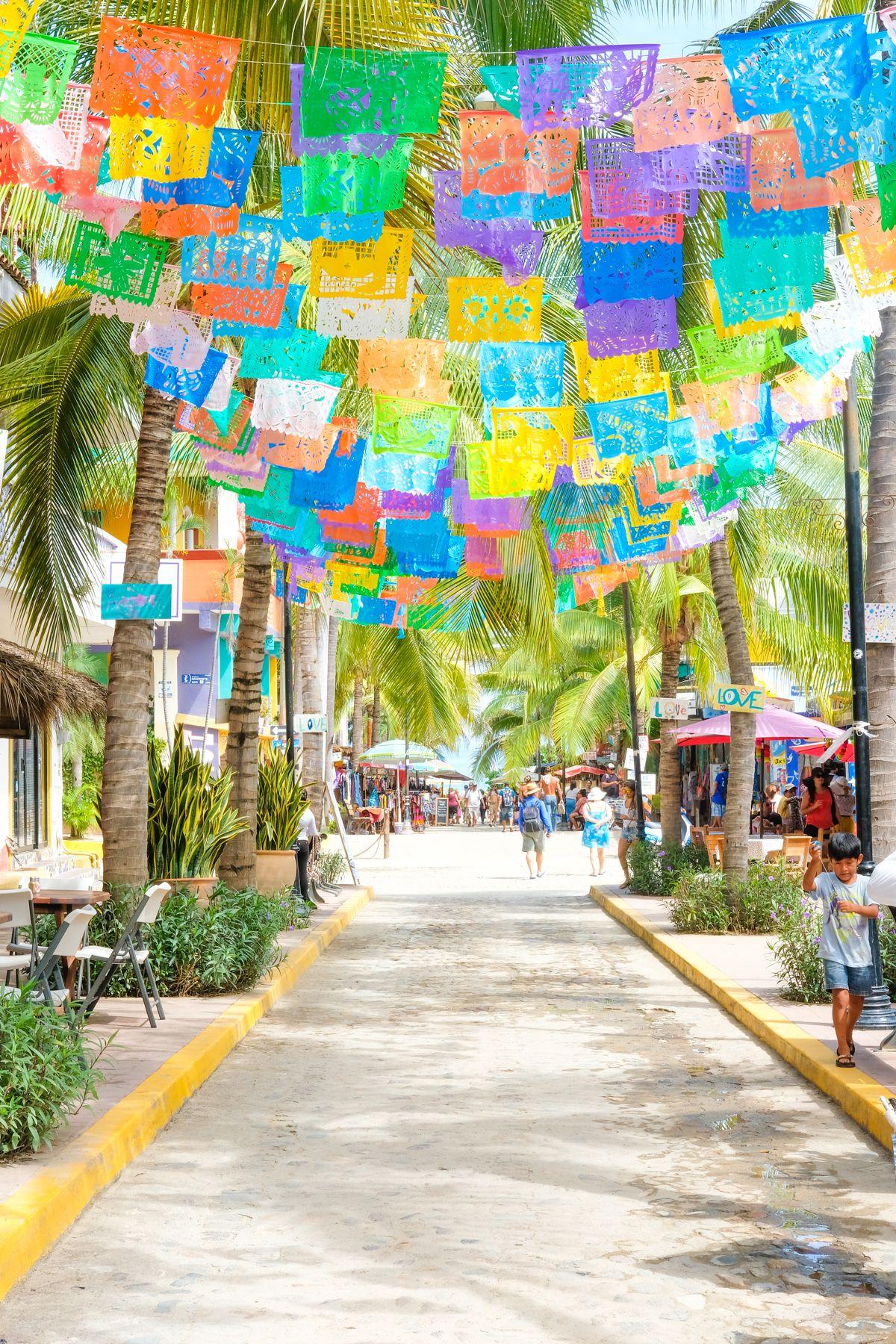43ade212202b Sayulita Papel Picado Flags. Travel guide to Sayulita