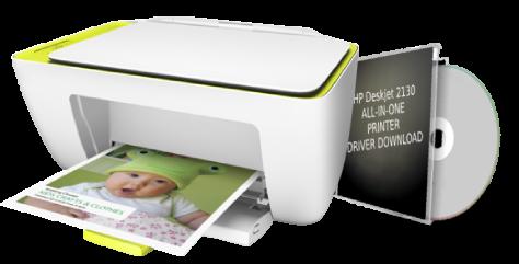 HP Deskjet 2130 all in one printer driver download