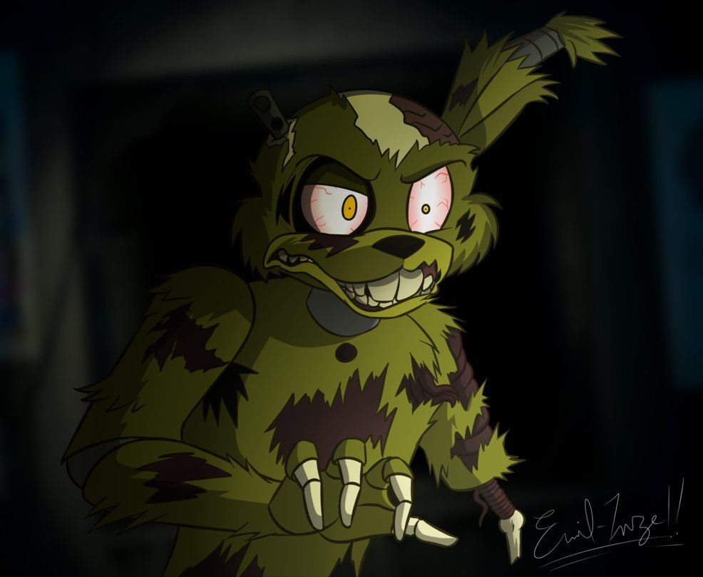salvaged springtrap tony crynight version by emil inze fnaf