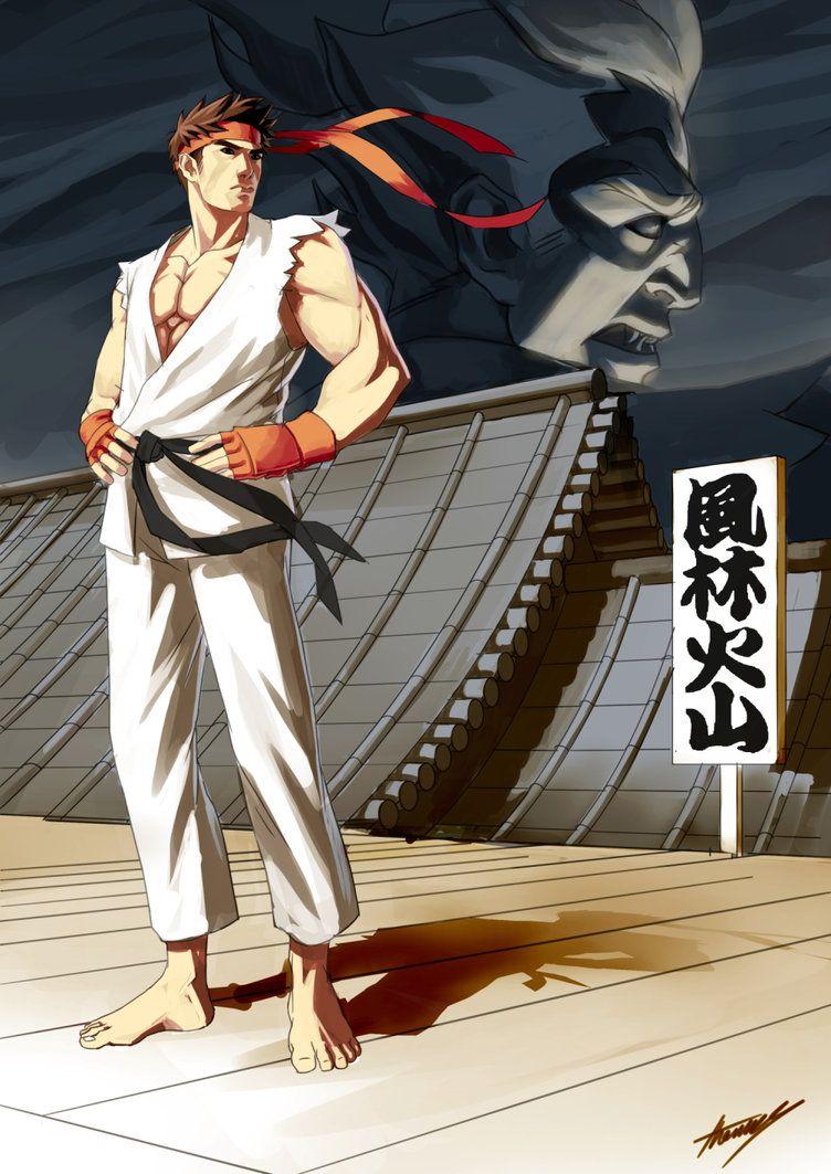 Ryu by TomAlbert.deviantart.com on @DeviantArt