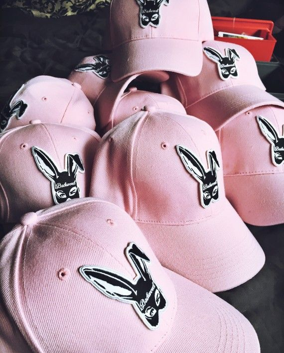 647fb2f9913 Bad Bunny Baseball Cap in BABY PINK in 2019