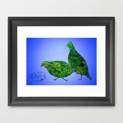 bobwhite quail framed art print by kim pate 40 00