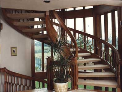 Best Pretty Curved Staircase In 2019 Curved Staircase Wood 400 x 300