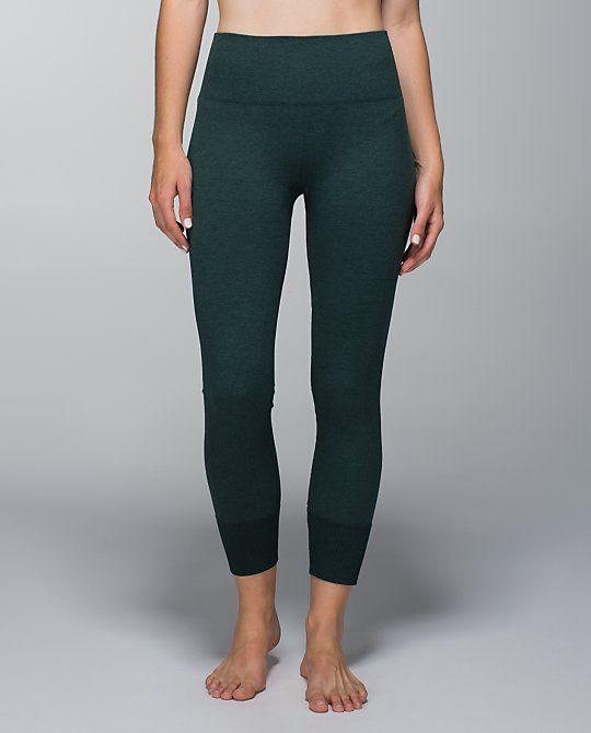 f238c9773ff549 Lululemon Ebb To Street Pant, Heathered Fuel Green, Size 2 | Lulu ...