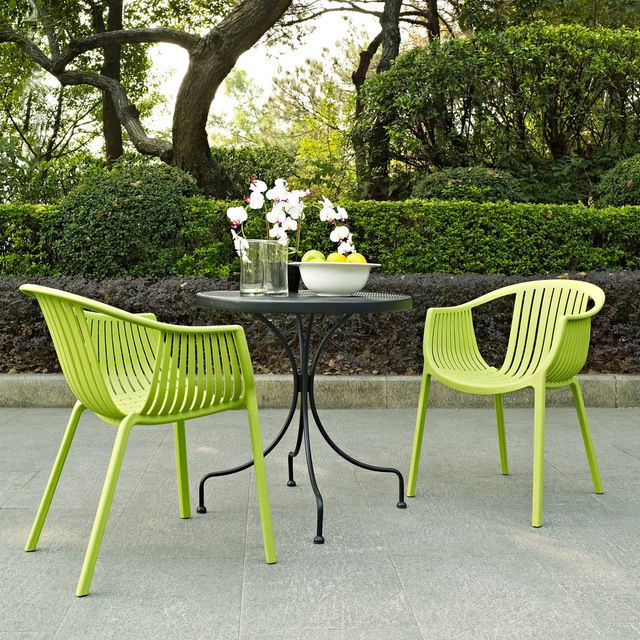Hammock Green Plastic Stackable Outdoor Modern Dining Chair Modern Outdoor Chairs Modern Outdoor Dining Chairs Bistro Table Outdoor Outdoor Dining Chairs