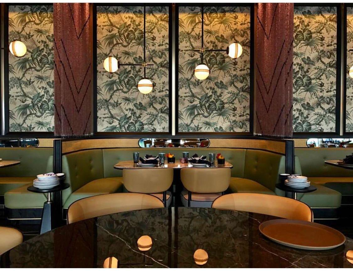 Hexa Hong Kong Bar Interior East Restaurant Restaurant