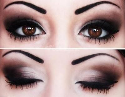 Maquillaje de fiesta ojos ahumados Maquillaje de fiesta, Ojo