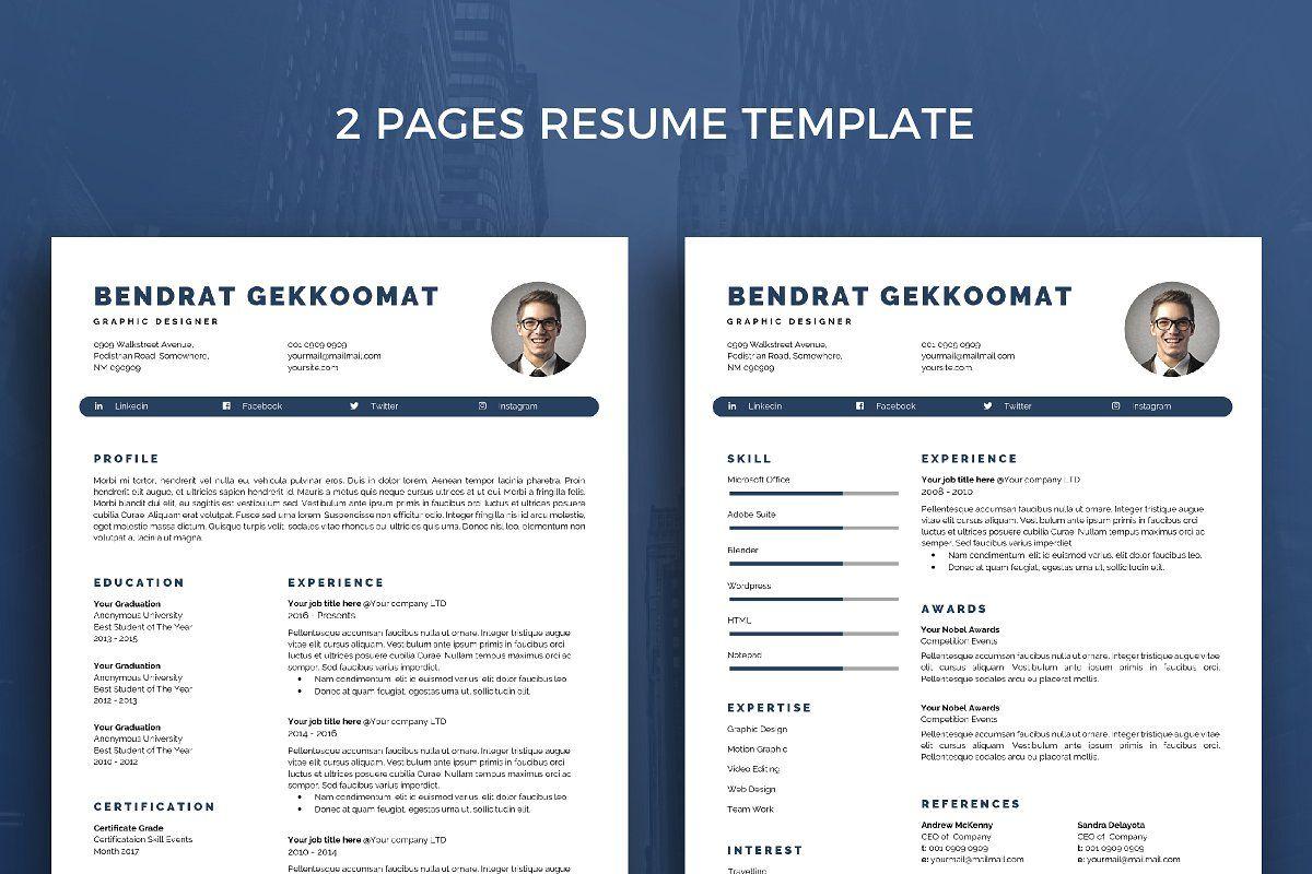 Resume Template 39 Resume Template Simple Resume Template Best Resume Template