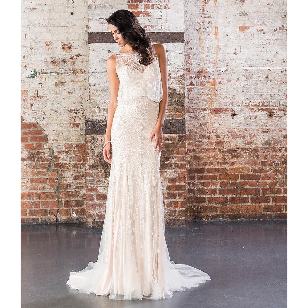 Wedding dresses styles  Embellished Wedding Dresses  Glitzy Designs for Glamorous Brides