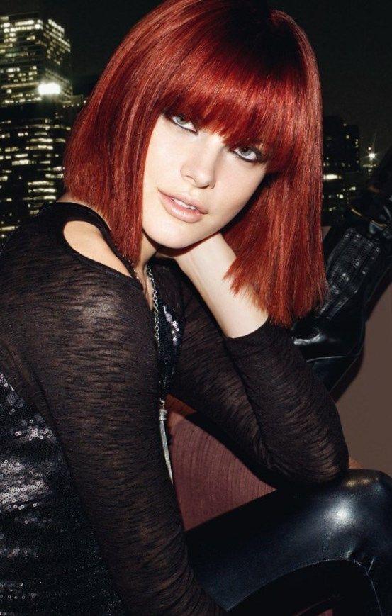 Kurze rote haare #frisuren #Trendfrisuren2019 #frisurideen