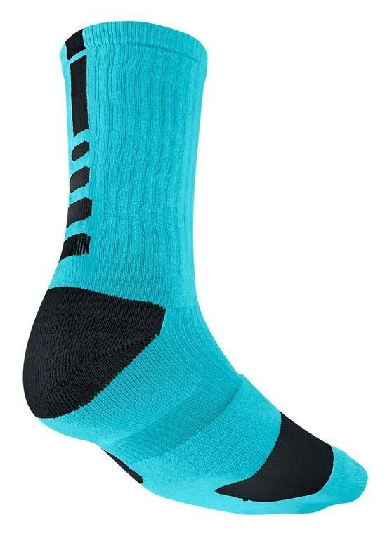 424f372353344 $8.05 - Nike Men's Elite Basketball Crew 1-Pair Pack Gamma Blue ...