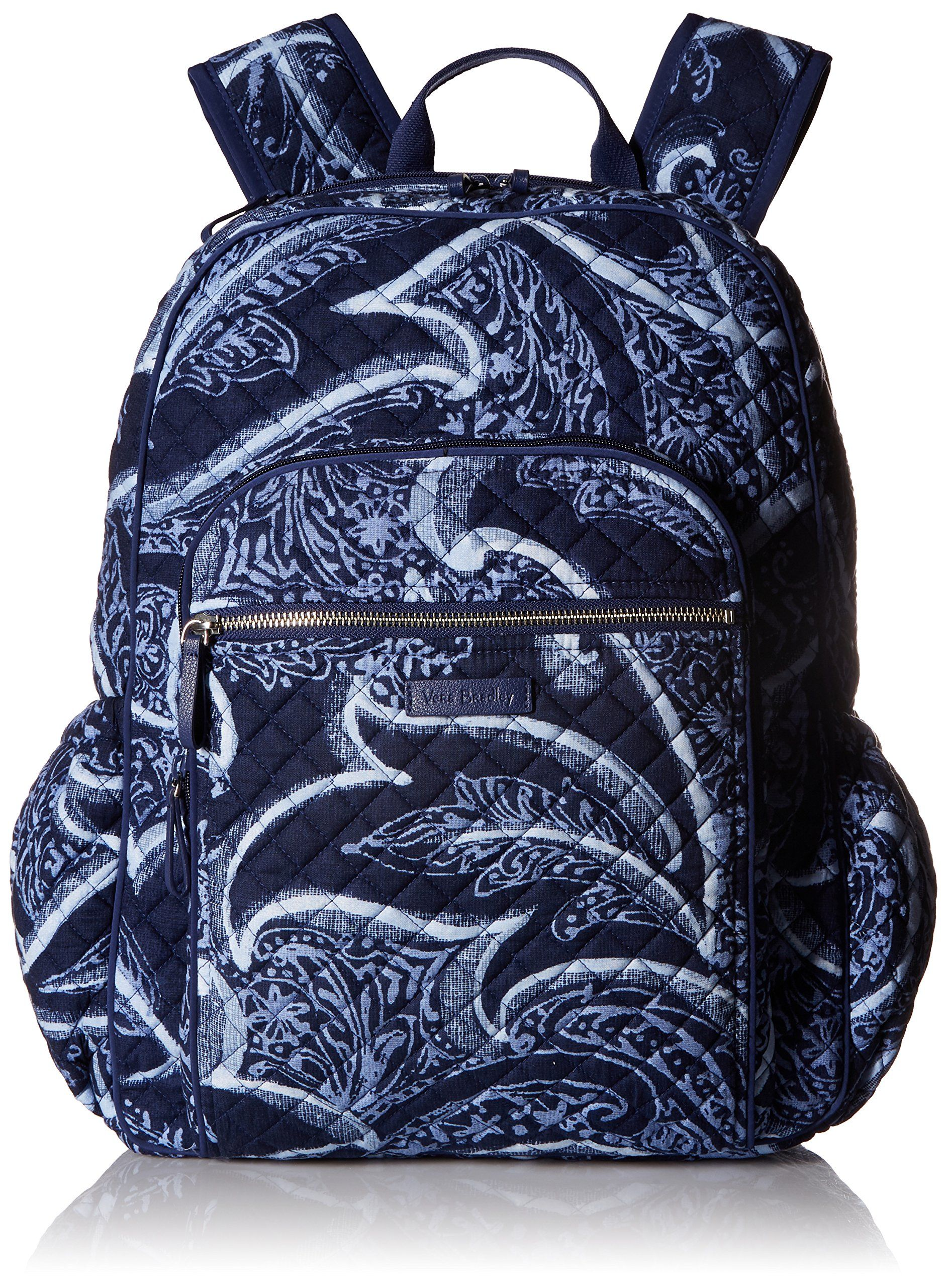 a5d379477a95 Vera Bradley Iconic Campus Backpack Signature Cotton Indio -- Want  additional info  Click on the image. (This is an affiliate link)