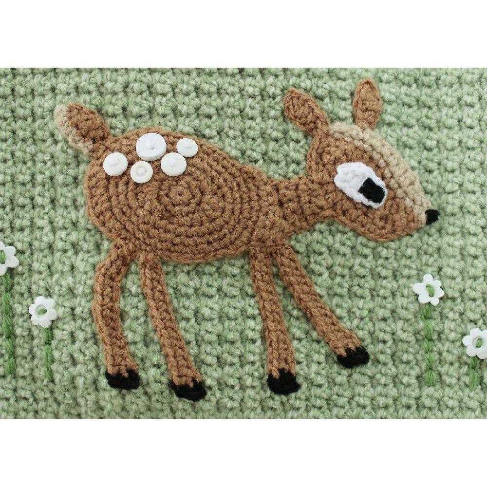 Little Fawn Applique Yarn Crochet Crochet Patterns Applique