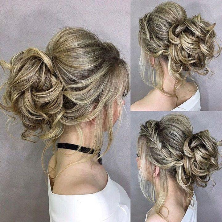 Elegant Wedding Hairstyles: Elegant Simplicity Updo Wedding Hairstyle To Inspire Your