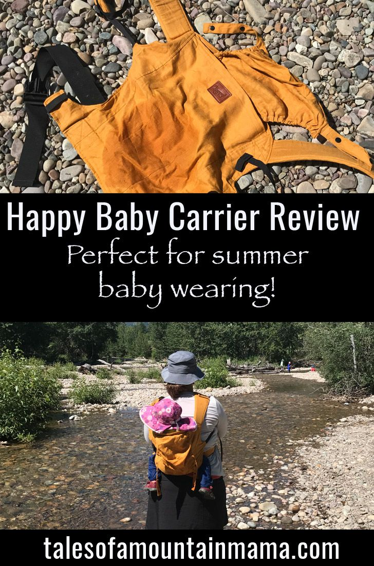 Happy Baby Carrier For Comfortable Summer Baby Wearing Happy