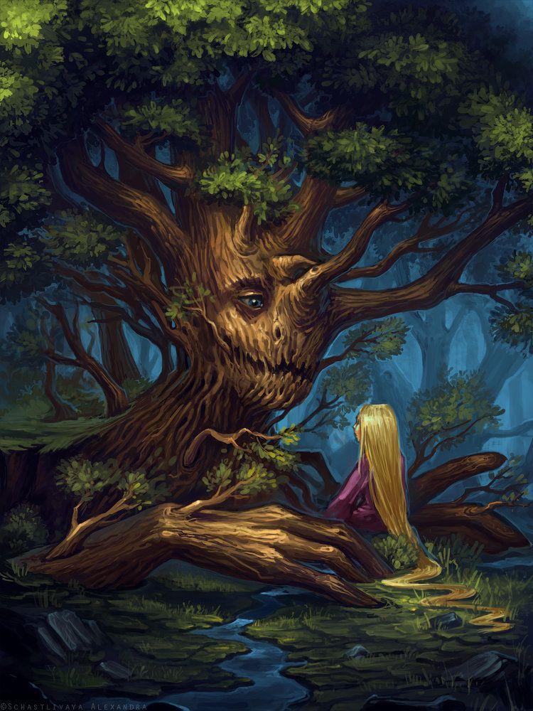 территории сказочные деревья картинки нас таже