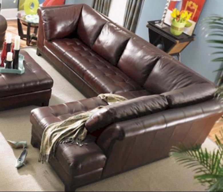 The Biltmore Leather Sofa Amp Sectional Set Home Decor