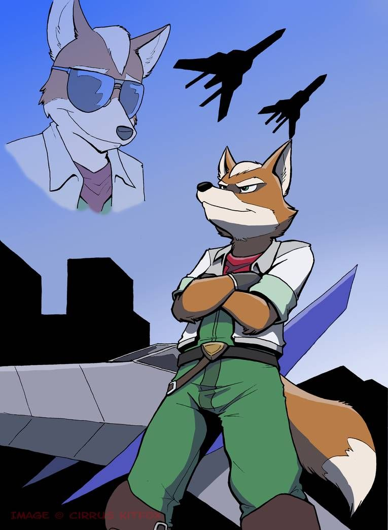 proud by cirruskitfox on deviantart fox mccloud star fox fox art
